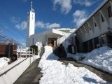 聖堂までの道