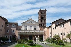 サンタ・チェチリア・イン・トラステヴェレ教会(外観)