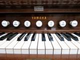 七つのストップ。音色や音量などを調節します。